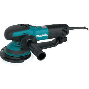 Makita sander can double as a great polisher and waxer for buffing your boat