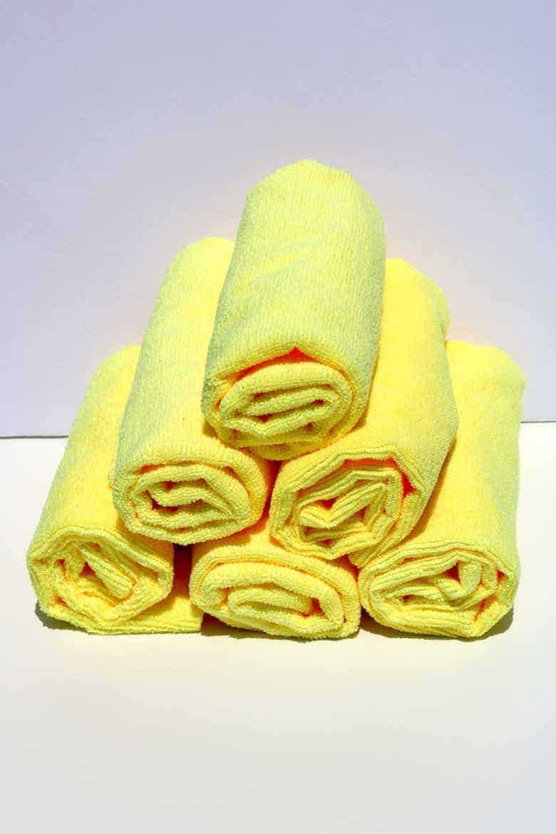 How to use edgeless microfiber towels