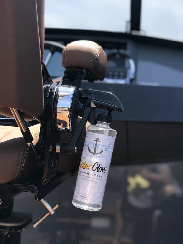 Marine ceramic spray coating going your boat 6-8 months of durable hydrophobic protection