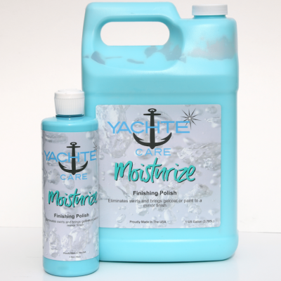 Boat Polish With Sealant Built In