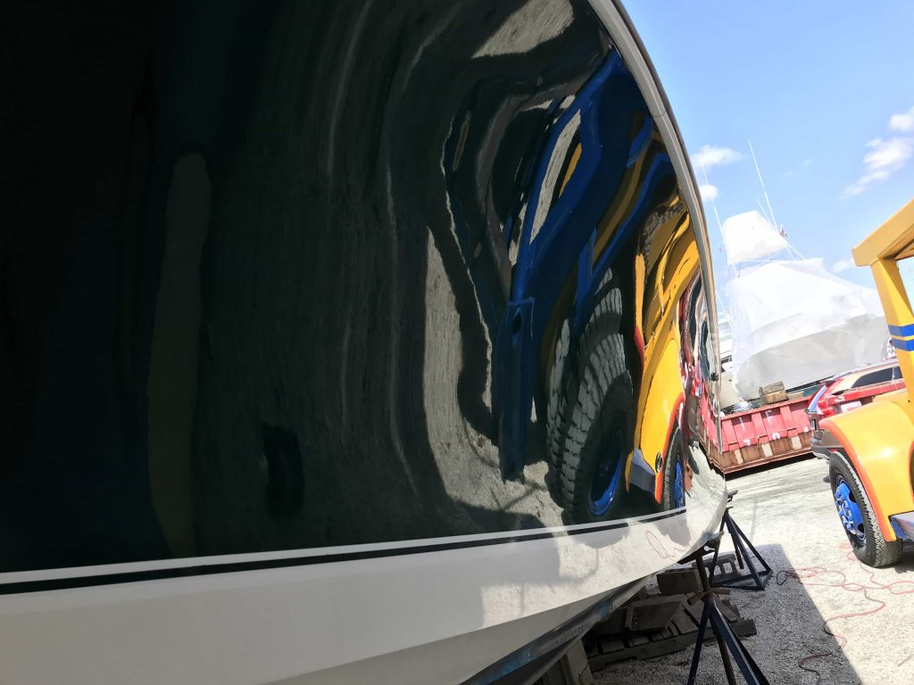 learn what a ceramic coating for you boat is and all the benefits associated of coating your boat.