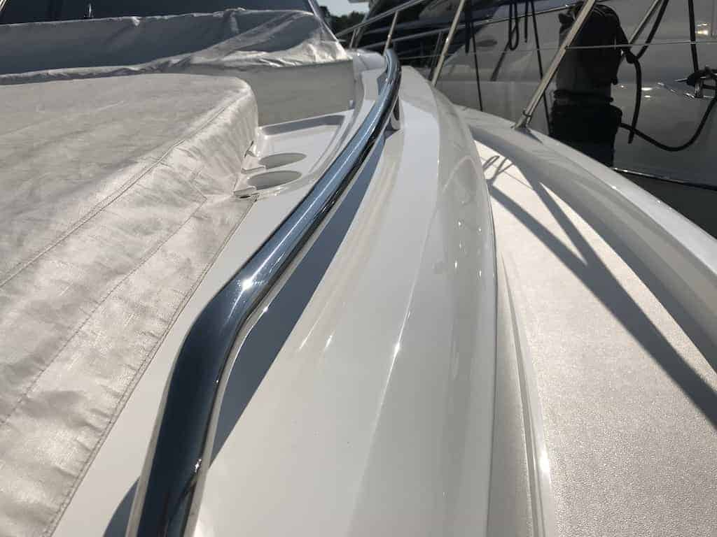 Our boat detailing kit will give you a swirl free boat and eliminate the toughest oxidation