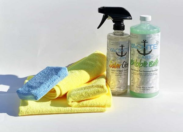 Easy To Use Ceramic Coating Starter Kit For Your Boat